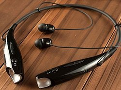 Black Compatible Bluetooth Stereo Headset HBS 730 Best Selling Premium Quality Wireless Bluetooth