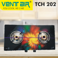 TCH 202 Ventair Gas Stove, For Kitchen, Size: 700x360x94 Mm