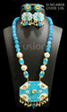 Traditional Ethnic Beaded Necklace Set