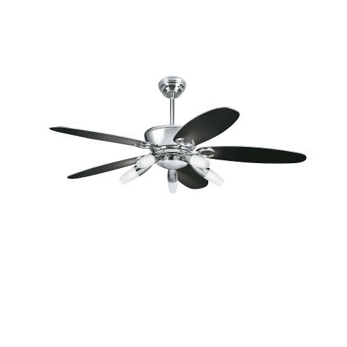 High Resolution Quality Ceiling Fans 5 Chrome Ceiling Fan: 1320mm Sweep Chrome Plated Aureus Ceiling Fan (Havells