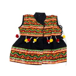 Ladies Fancy Embroidered Kedia, Size: S-L