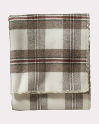 Eco Friendly Cotton Yarn Dyed Plaid Blanket
