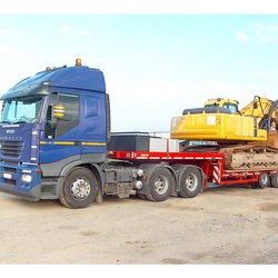 Heavy Machinery Transportation Service