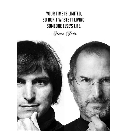 bb81a7b94cd Posterboy 'Steve Jobs - Time Is Limited' Poster at Rs 179.00 /piece ...