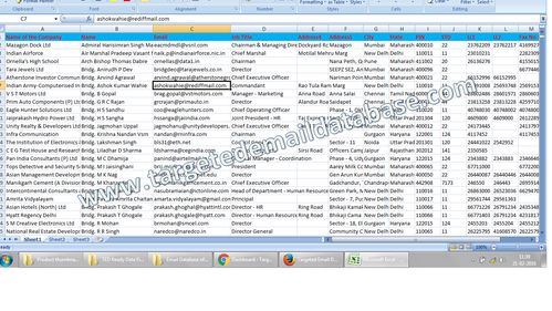 Email Database of Companies & SMEs in Sector 2, Kolkata
