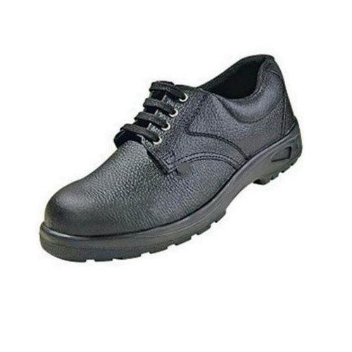 68dddef4d70f Black Ce Approved Concorde Ex. Leather Aur Synthetic Leather Safety Shoes