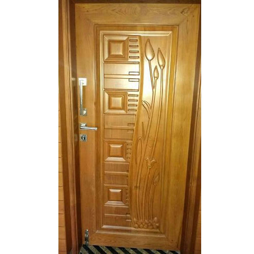 Brown Stylish Wooden Door Rs 3000 Square Feet Raja Wood