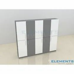 5 Elements Wooden Office Cabinet