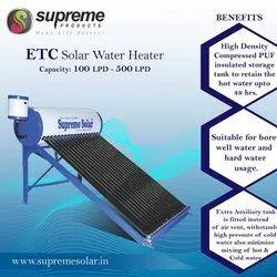 ETC Supreme Solar Water Heater