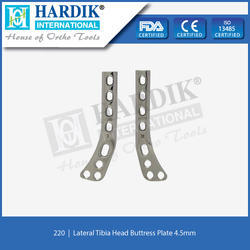 Lateral Tibia Head Buttress Plate 4.5mm