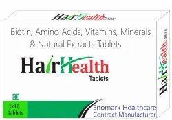 Biotin, Amino Acids, Vitamin, Minerals and Natural Extracts