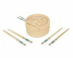 8 Inches Bamboo Momo Steamer