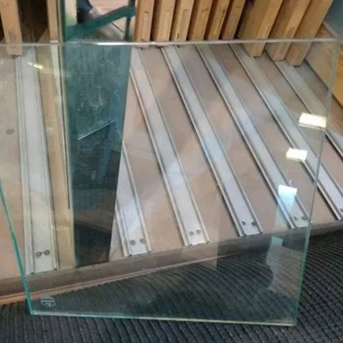 Transparent Laminated Toughened Glass, Shape: Flat, Thickness: 10.0 mm