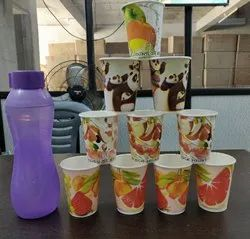 Paper Printed Coffee Cup, Capacity: 40-330 ML, for Beverage