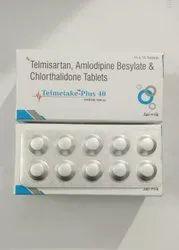 Telmisartan 40mg Amlodipine 5mg Chlorthalidone 12.5 mg Tablet