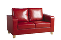 Red Leather Sofa Lthso-015