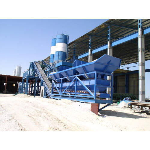 Four Bin Concrete Batching Plant