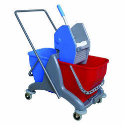 Heavy Duty Deluxe Wringer Trolley 60Lit