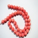 Pink Coral Round 10mm Gemstone Beads
