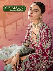 Shree Fabs Crimson Luxury Edition Pakistani Style Salwar Kameez