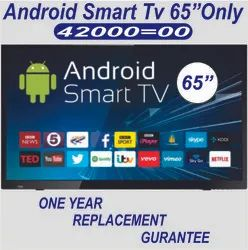 Stanlee Black LED Smart TV 65, Wifi