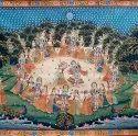 Radha Krishna Leela Pichwai Wall Painting
