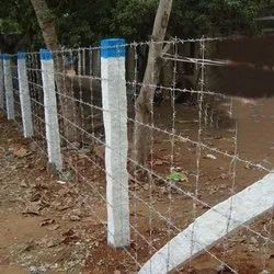 Stainless Steel Barbed Wire Fencing, For Fenching
