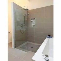 Plain Shower Glass Door