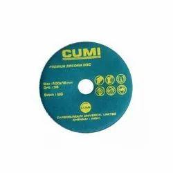 Cumi Premium Zirconia Fiber Disc