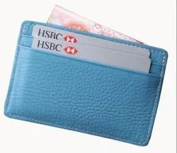 Leather Sleeve Credit Card Holder