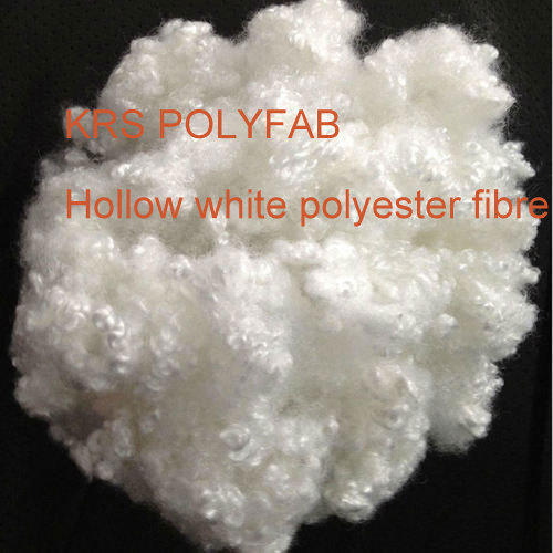 Hollow White Fiber, Packaging Type: Compressed Bales