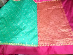 Kanjivaram Saree, 6.3 m (with blouse piece)