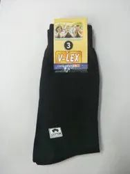 Black Cotton Socks