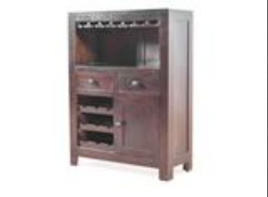 Branco Bar Cabinet In Sheesham Wood By Woodcraft At Rs 9999 Piece