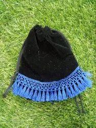 Designer Velvet Potli Bag
