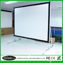 """Free Stand White Projector Screen, Screen Size: 60""""x80"""", For Office, Seminars"""