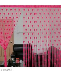 Polyester Doors Curtains, Size: 7ft