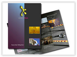 8.5 x 11 Brochure Printing