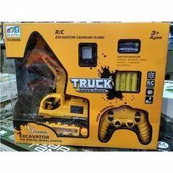 Plastic JBC Truck Toy