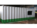 Mild Steel Portable Living Cabin