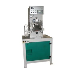 High Speed Steel Savvy Automations CS 40 Cap Stamping Machine, Automation Grade: Automatic