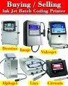 Imaje Inkjet Batch Coding Printer - Used / Refurbished