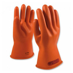 Rubber Hand Safety Gloves for Industrial Use