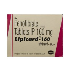 Lipicard 160 Tablet