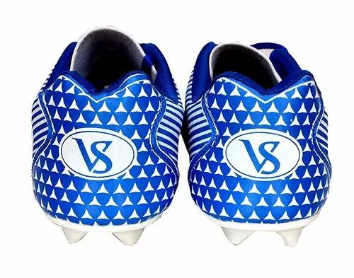 Blue And White Football Shoes Football