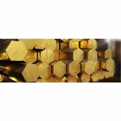 Hexagon Brass Bar