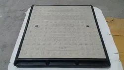 Thermodrain FRP Manhole Cover With Frame 600mm x 600mm