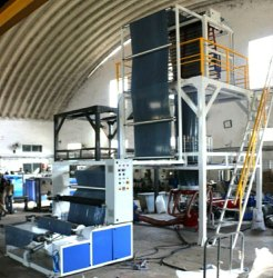 Yug Industries Semi Automatic Garbage Bag Making Machine, Capacity: 80-100 (Pieces per hour), 220-280 V