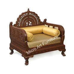 Designer Wooden Sofa Chair