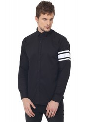 Black Sleeve Club Wear Shirt